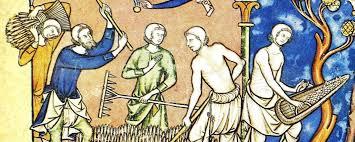 Contadini al lavoro nel Medioevo (con immagini) | Miniature ...