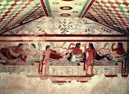 A tavola con gli Etruschi: i banchetti, la cucina, cosa e come si ...
